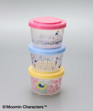 Moomin×Afternoon Tea/3段カップ型容器
