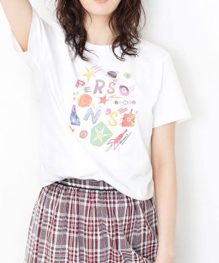 【sweet 6月号掲載】PERSON'S/別注プリントTシャツ