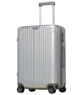【BOTUNG】スーツケース M 中型 TSAロック 超軽量 ダブルキャスター 8輪 アルミ風