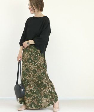 アラベスクデシンロングスカート