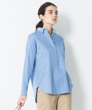 【マガジン掲載】CANCLINI コットンチュニックシャツ(検索番号F35)