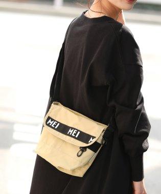 【MEI×ViS】リサイクルナイロンミニメッセンジャーバッグ