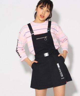 ★ニコラ掲載★ベルト付ジャンパースカート