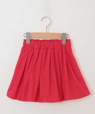 [100-130]インナーパンツ付きカラーギャザースカート[WEB限定サイズ]