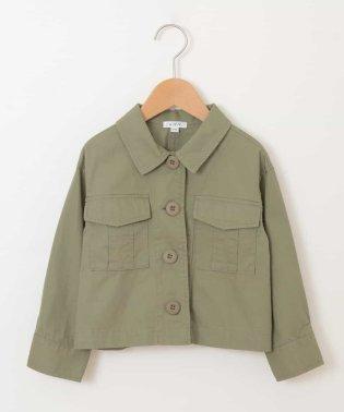 [100-130]ミリタリーシャツジャケット[WEB限定サイズ]
