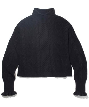 HEARTS CLUB SWEATER BLACK