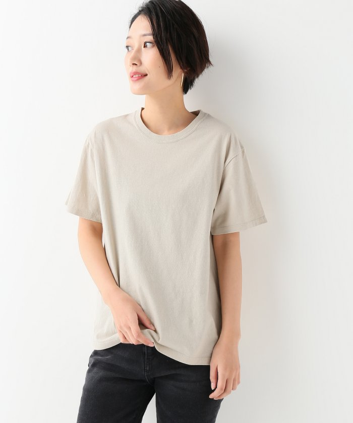 30コットン Washed ショートスリーブTシャツ