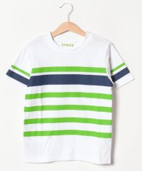CROCSボーダー半袖Tシャツ