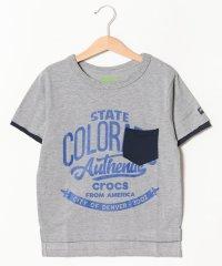 CROCSフェイクレイヤード半袖Tシャツ