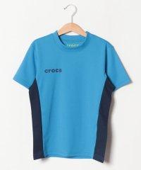 CROCSメッシュ素材半袖Tシャツ
