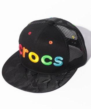 CROCS3D刺繍ロゴキャップ