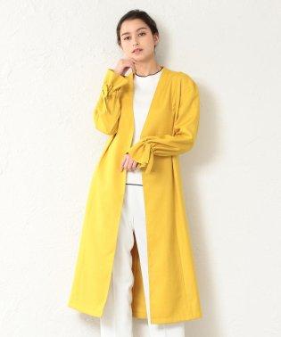 【TVドラマ着用】【LOVELESS】WOMEN リネンライクノーカラーコート