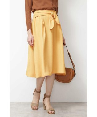 |steady. 5月号掲載|[洗える]リネンライクセットアップ スカート