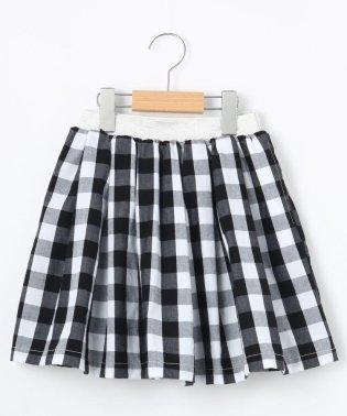 【100cm~140cm】きらきらラメゴム柄スカート