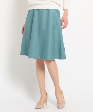 【洗える】淡色カラーフレアスカート