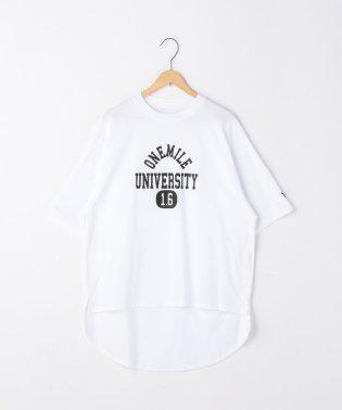 【1M】ドライプリントロゴTシャツ