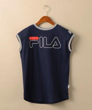 【キッズ】〔WEB限定〕FILA(フィラ)ロゴワンピース