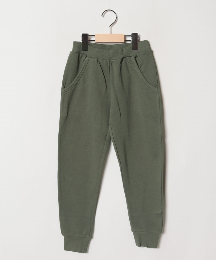 【EC別注】裾リブ裏毛カットパンツ