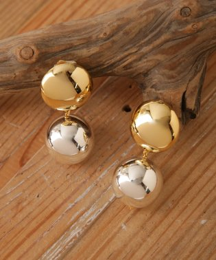 on the sunny side of the street/25Metal Pearl Round EarClips
