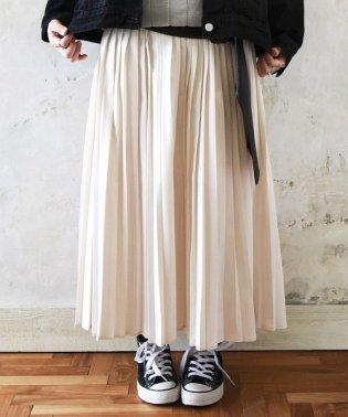 大人プリーツロングスカート