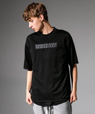 NUMBER (N)INE DENIM(ナンバーナインデニム) メッシュビッグTシャツ