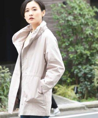 【2WAY】グログランフーデッドコート