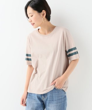 コットンテンジク ソデライン Tシャツ