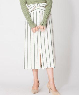 【DONEE YU】ウエストリボンタイトスカート