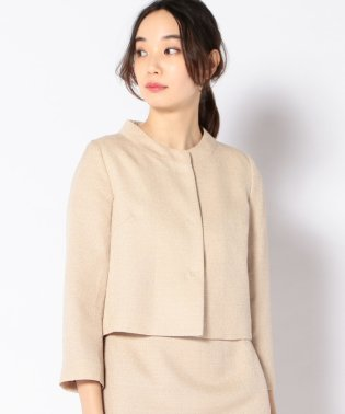 【SHIPS for women】troisirmeCHACO:TWEED JK
