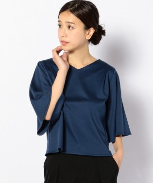 【SHIPS for women】WCO:PONCH FLARE/SL PO