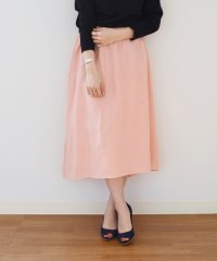 【SHIPS for women】WD:IRISH LINEN FLARE SK