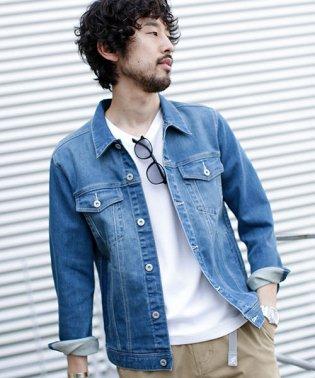 【WEB限定】ストレッチデニムジャケット