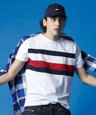 フラッグプリントTシャツ
