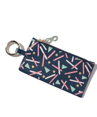 幾何学柄カードコインケース/エミリー・テイラー