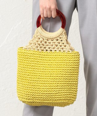 【CACHELLIE】RING HANDLE TOTE