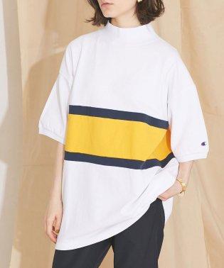 【MIHO NOJIRI × nano・universe】Champion/別注カノコカラーブロックTシャツ