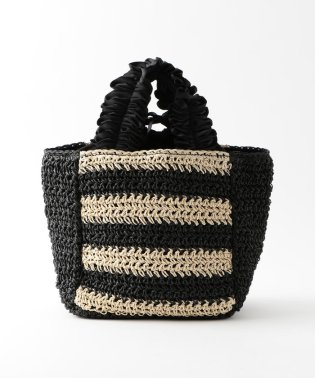 【CACHELLIE】FRILL HANDLE PAPER TOTE