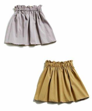 [140-150]リバーシブルギャザースカート
