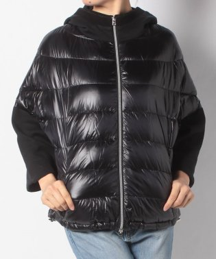 【HERNO】ダウンコート OVER JACKET CON CAPPUCCIO【40】/BLACK