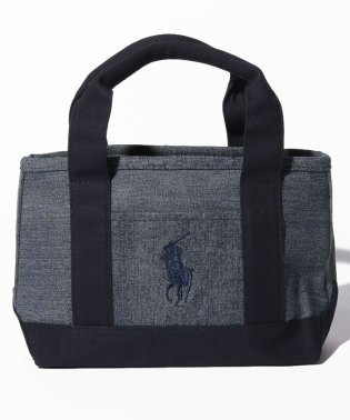 【POLO RALPH LAUREN】School Tote Small II (ファスナー開閉)