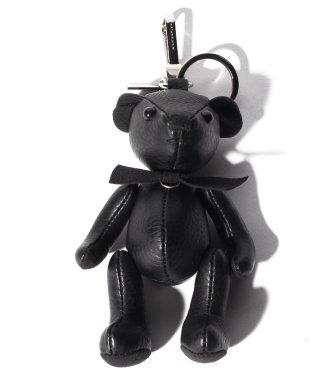 【BURBERRY】トーマスベア レザーパッチワーク【BLACK】