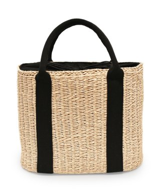 MURA かごバッグ トート レディース 巾着付き バスケット トートバッグ ナチュラル