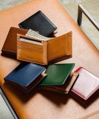 MURA 二つ折り財布 財布 メンズ 薄型 牛革 カーボン調 薄い 小銭入れ 二つ折り
