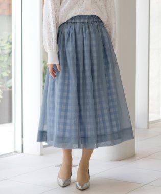 ベルオーガン×ギンガム スカート