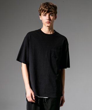 NUMBER (N)INE DENIM(ナンバーナインデニム) 五線譜ポケット付ビッグTシャツ