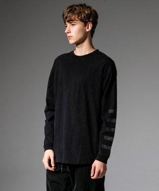 NUMBER (N)INE DENIM(ナンバーナインデニム) スリーブロゴビッグTシャツ