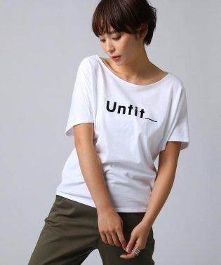 コットン天竺 ロゴTシャツ