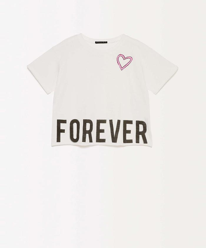 メッセージワイド半袖Tシャツ・カットソー