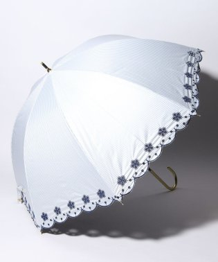 完全遮光 晴雨兼用 長傘 フラワー 遮光率100% 遮蔽率100% 1級遮光 遮熱 軽量 UVカット