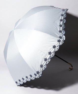 完全遮光 晴雨兼用 折りたたみ傘 フラワー 遮光率100% 遮蔽率100% 1級遮光 遮熱 軽量 UVカット